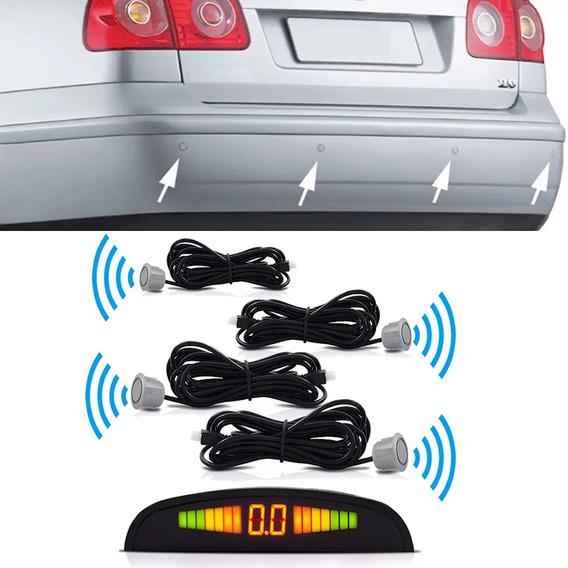 Nao Wireless Sensor(kit)4 Pontos Display Lcd De Estacionamen