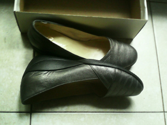 Oferta! Zapato Mujer Cuero Taco Chino Comodo