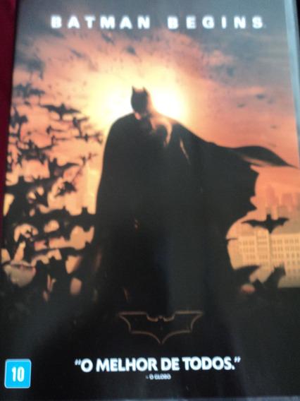 Dvd-batman:begins:usado,em Perfeito Estado.christian Bale