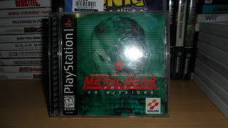 Metal Gear Solid: Vr Missions - Completo - Ps1/ps2/ps3