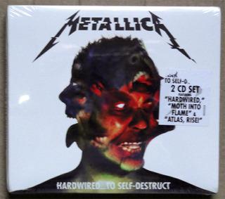 Cd Metallica - Hardwired...to Self-destruct (duplo) Lacrado!
