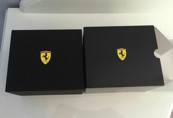 Relógio Ferrari Scuderia Original, Caixa De Madeira!!