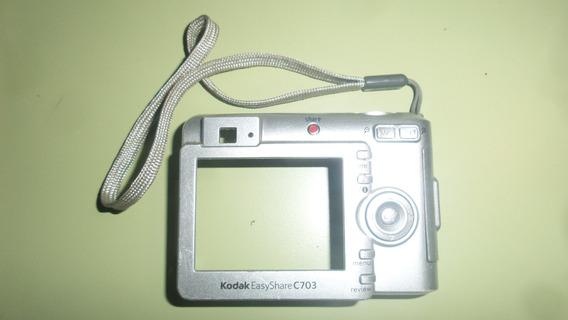 Tampa Traseira Da Câmera Kodak Easyshare C703 Original