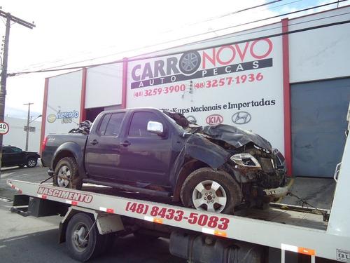 Sucata Nissan Frontier Le 4x4 Turbo Diesel Peças Cambio 2010