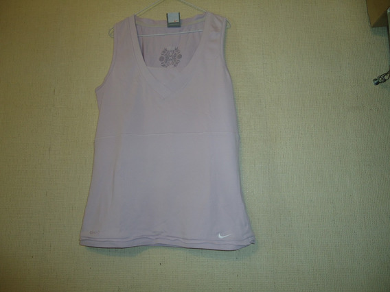 Remera Fit Dry Primera Marca Color Rosa Chicle Talle S