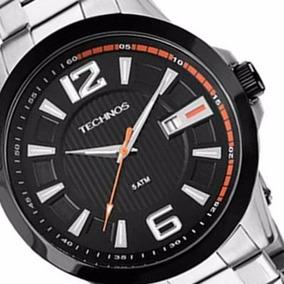 Relógio Technos Masculino Aço 50 Metros 2115knv/1p