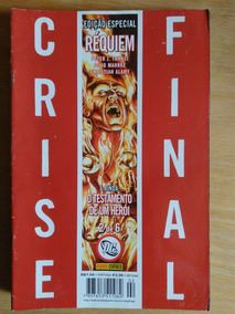 Revista Crise Final - Réquiem - Edição Especial N° 2 A 6