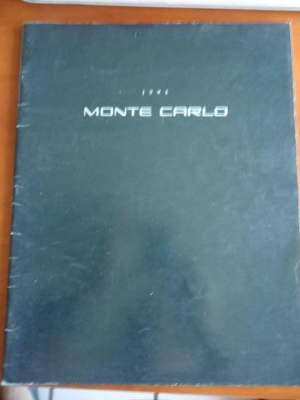 Catálogo Monte Carlo (carro) Frete Grátis