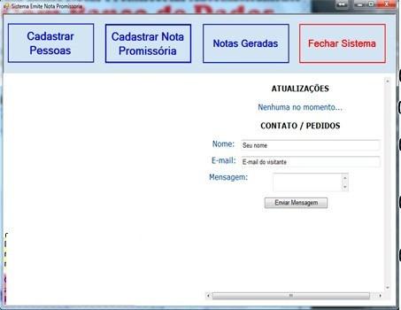 Sistema Recibos E Notas Promissórias Automatica Banco Dados