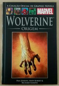 Wolverine Origem Capa Dura Salvat Novo
