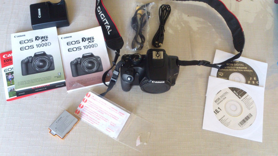 Camera Canon Eos Rebel Xs - Muito Conservada...pouco Uso.