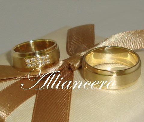 Aliança Ouro 18k 17gr - Frete Gratis - Casamento Alliancero