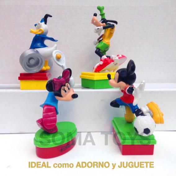 Adornos Para Torta Cumpleaños Mickey Minnie Pluto Oferta X3
