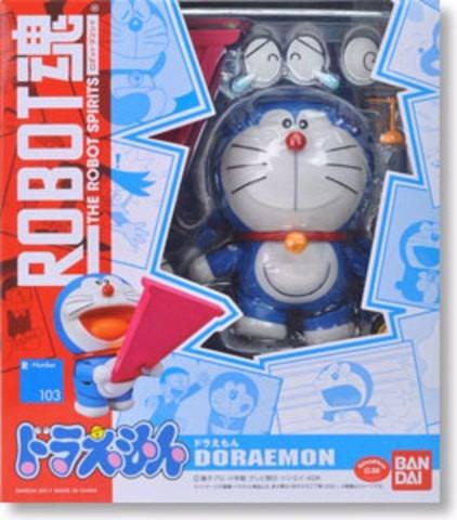 Doraemon Con Accesorios Robot Spirits R-103 Figura Bandai