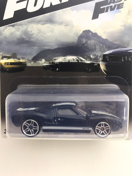 Hot Wheels Fast & Furious Ford Gt-40