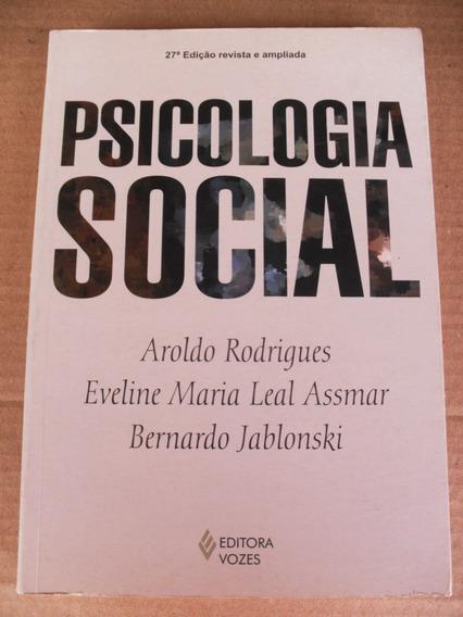 psicologia social principiantes aroldo rodrigues
