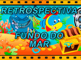 Álbum Digital Em Vídeo Tema Fundo Do Mar Envio Por E-mail