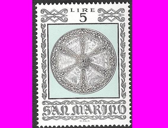 Estampillas San Marino Década 1970-80 Varios