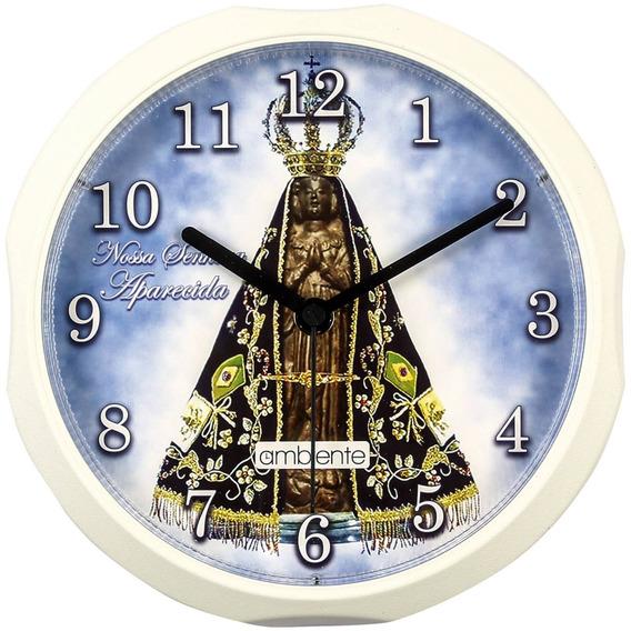 Relógio Parede Nossa Senhora Aparecida