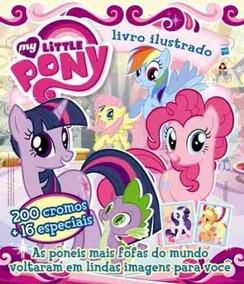 Album De Figurinhas - My Little Pony - Completo E Preenchido