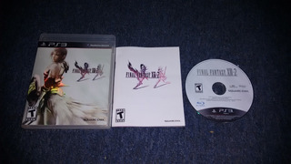 Final Fantasy Xiii-2 Completo Para Play Station 3