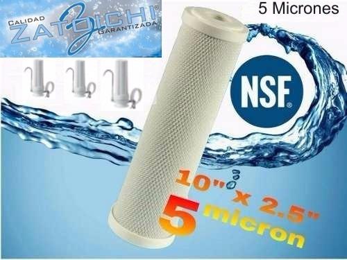 Filtro Interno De 5 Micrones P/ Zatoichi Y Similar