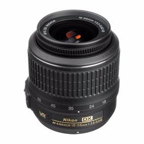 Lente Nikon Afs Dx Vr 18-55mm F/3.5-5.6g A Vista 600