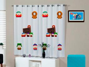 Cortina Quarto South Park Geek Moderno Diferente