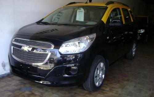 Chevrolet Spin Ok Taxi S/c Lic. --anticipo  Y Cuotas--