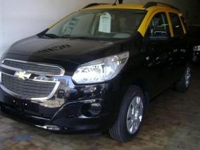 Chevrolet Spin Ok Taxi Con Licencia, Techo Amarillo Y Reloj-