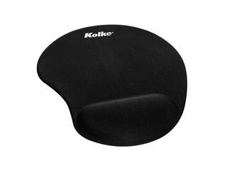 Mouse Pad Gel Kolke Ked-150 Apoya Muñeca Negro Black Htg