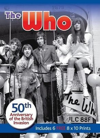 The Who 50th Anniversary British Invasion Includes 6 Prints