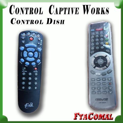 Controles Captive Works Y Dish Aplica Universal Tv Ver Video