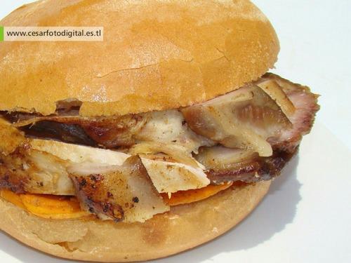 Desayuno Criollo Con Pan Con Chicharron