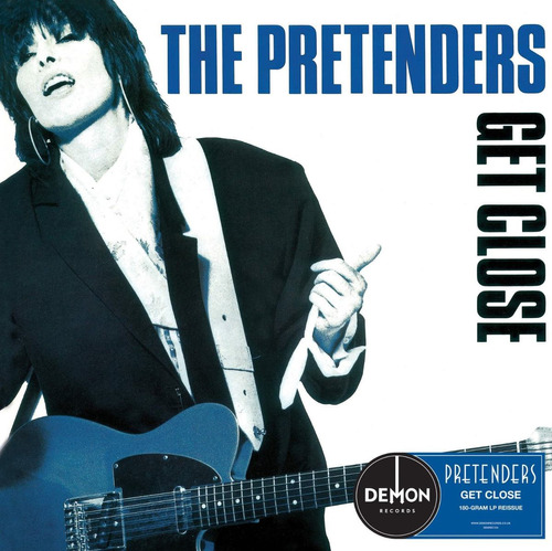 The Pretenders Get Close Lp Vinilo180grs.import.new En Stock