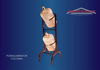 Portagarrafon Para Dos Garrafones, Columpio 2 Cavidades