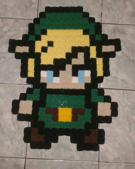 Tapete Do Link(legend Of Zelda) De Croche