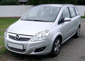 Manual De Despiece Chevrolet Zafira (2005-2011) Español