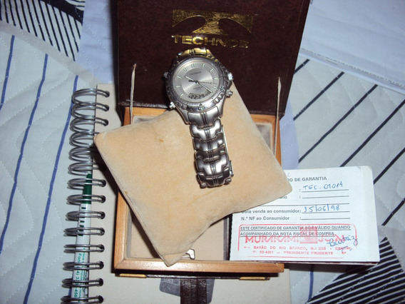 Relógio Technos Titanium Ref:01014 Analógico+digital