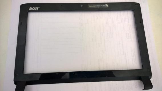 Carcaça Tampa Da Tela + Moldura Netbook Acer Aspire One 532h