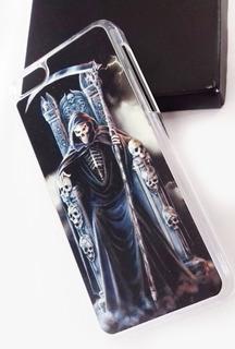 Estuche Carcasa Case Calavera Parca iPhone 5c Skpalace