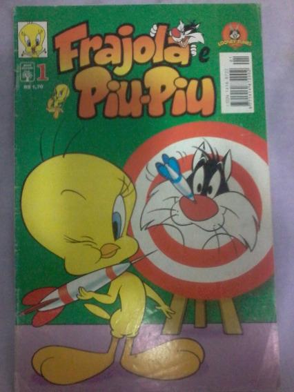Revista Gibi Hq Frajola E Piu-piu Nº 1 (1997) Edt. Abril