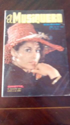 Revista El Musiquero  N° 153 - Ginette- Adamo (489