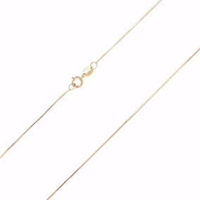 Corrente Ouro 18k Amarelo Veneziana Com 45cm Envio Imediato