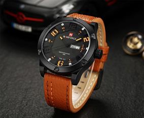Relógio Militar Naviforce Nv9070 Masculino Sport Calendário