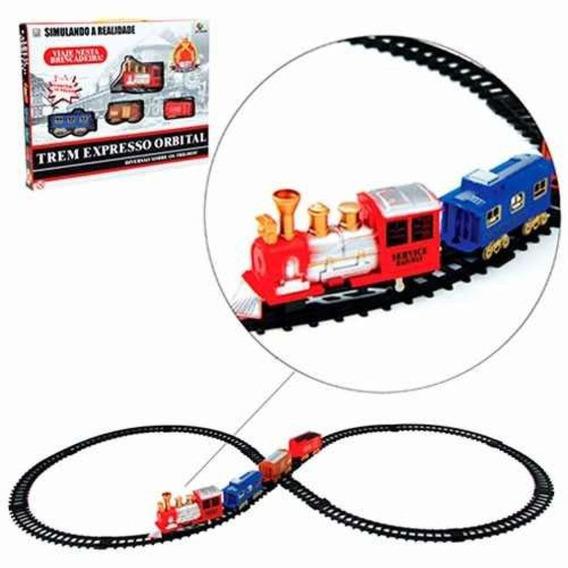 Trem Locomotiva Trenzinho Eletrico Ferrorama Expresso