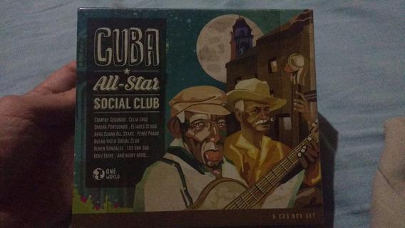 Cuba All-star Social Club - Box Com 6 Cds- Lacrado