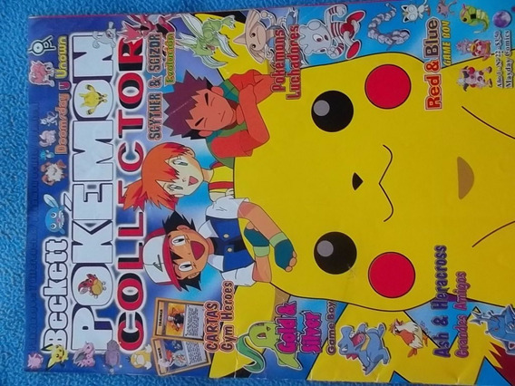 Pokemon Colector Revista Oficial (3 Unidades)