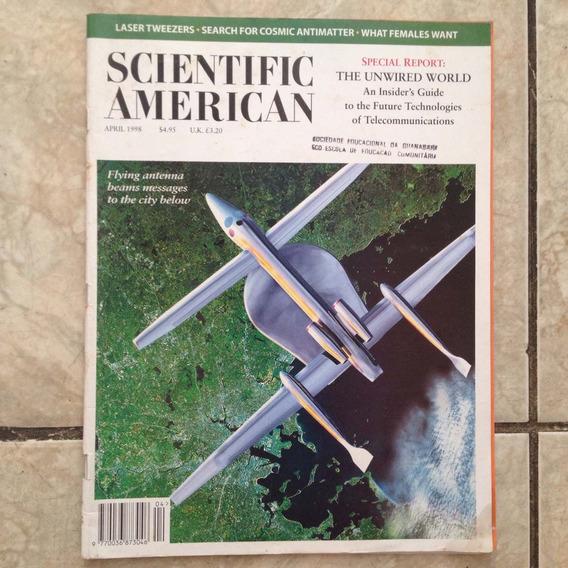 Revista Scientific American Abril 1998 N4 278 Flying Antenna