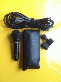 Microfone Dinâmico As400 Com Cabo, Estojo E Clip - Novo